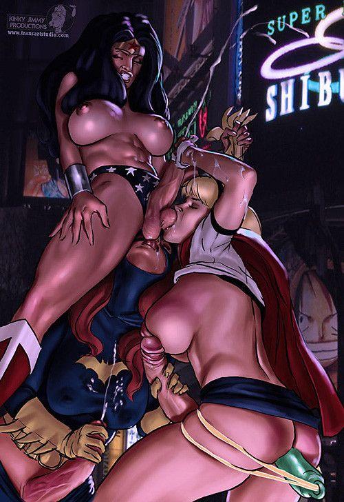 Porno en 3D avec des dessins anims trs chaud